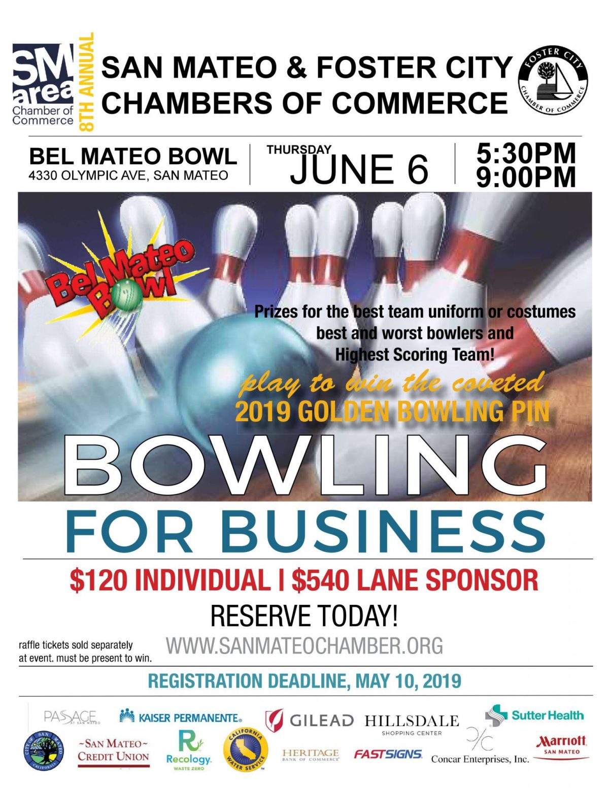 2019 Bowling for Business Sign and Registration Form 20190312-images
