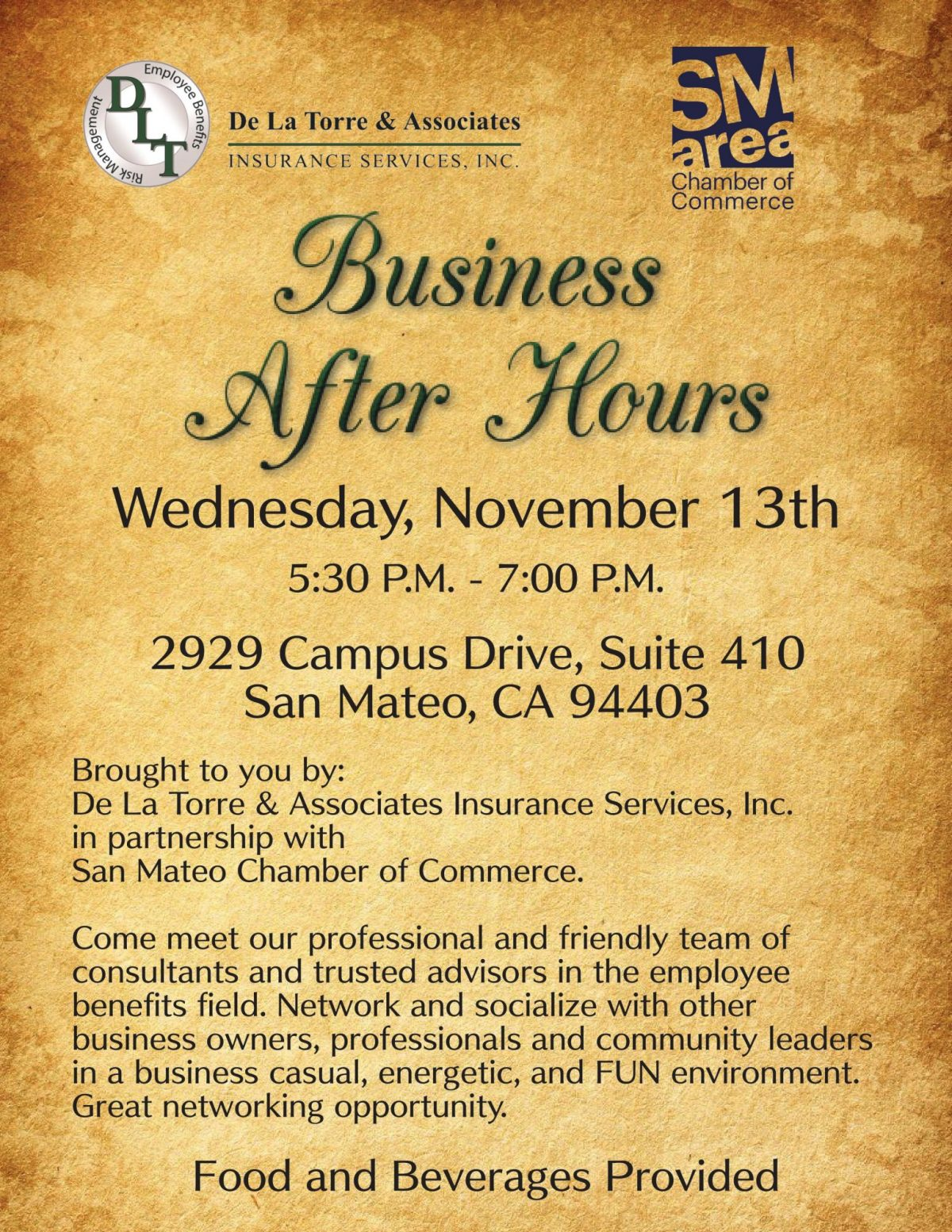 20191113 Business After Hours Flyer