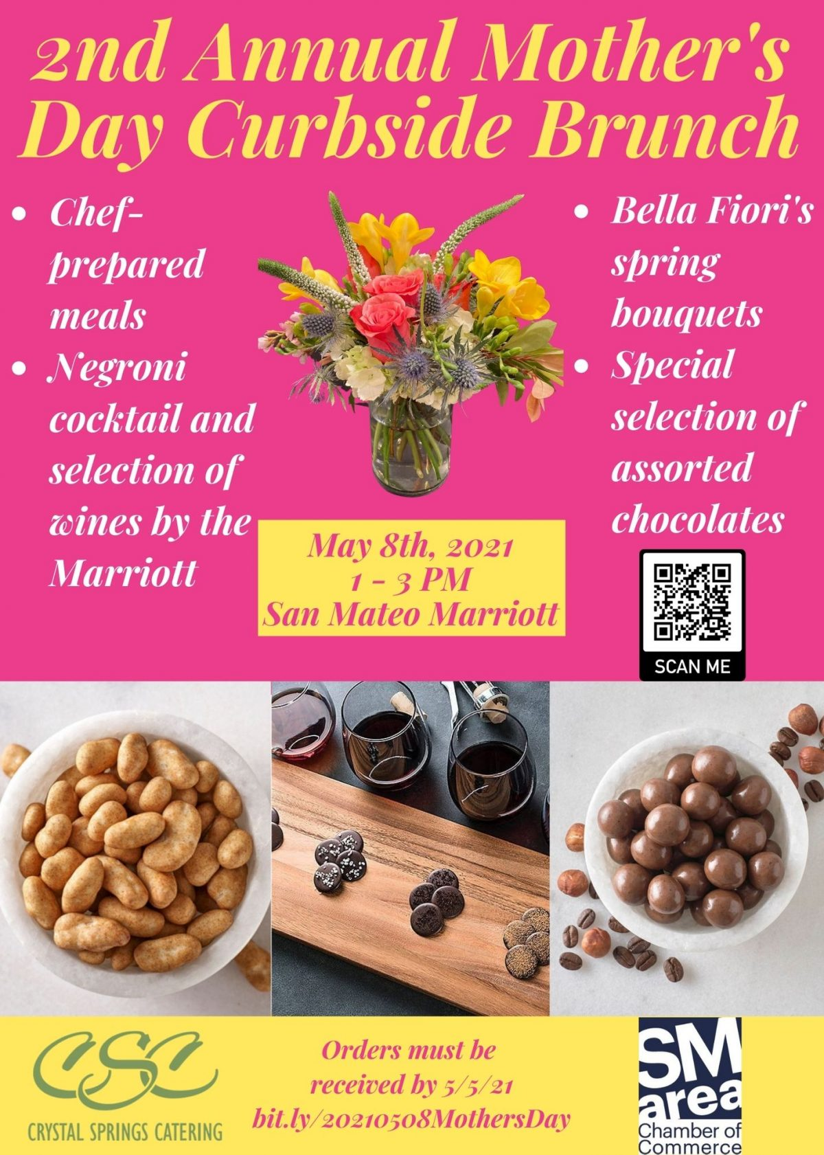 Chamber Mothers Day Brunch Flyer
