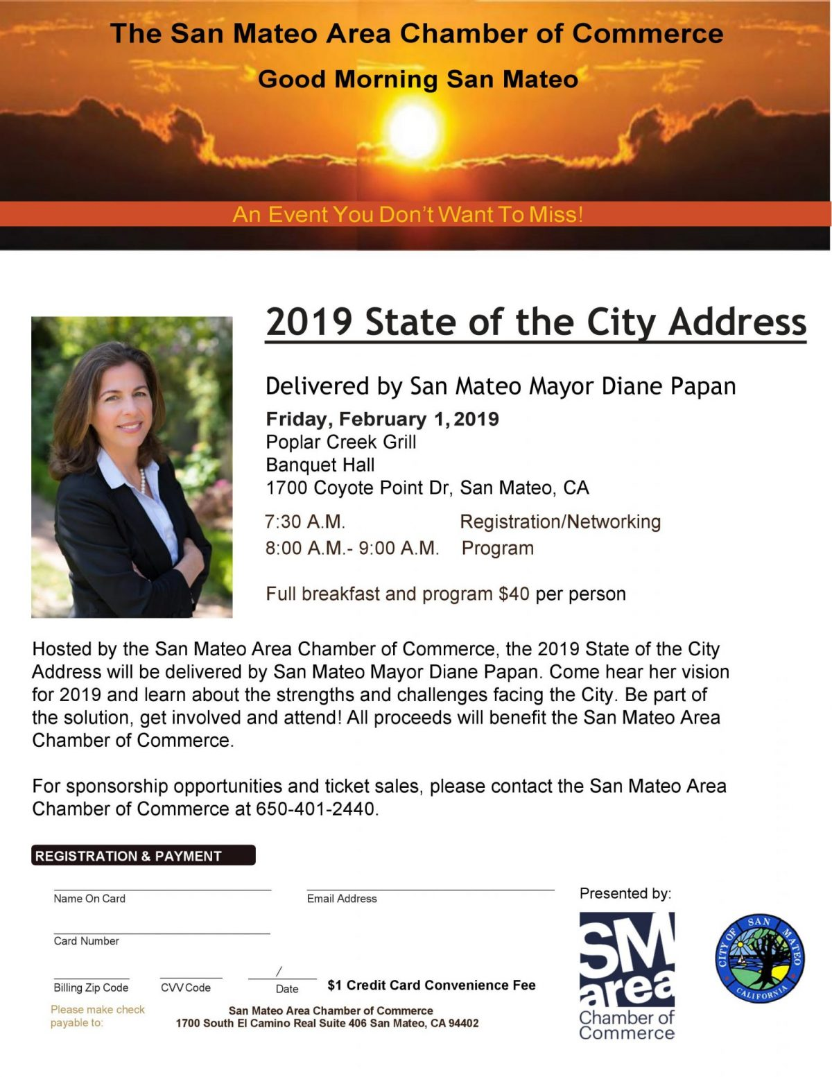 Good Morning SM 2019 State of the City Flyer