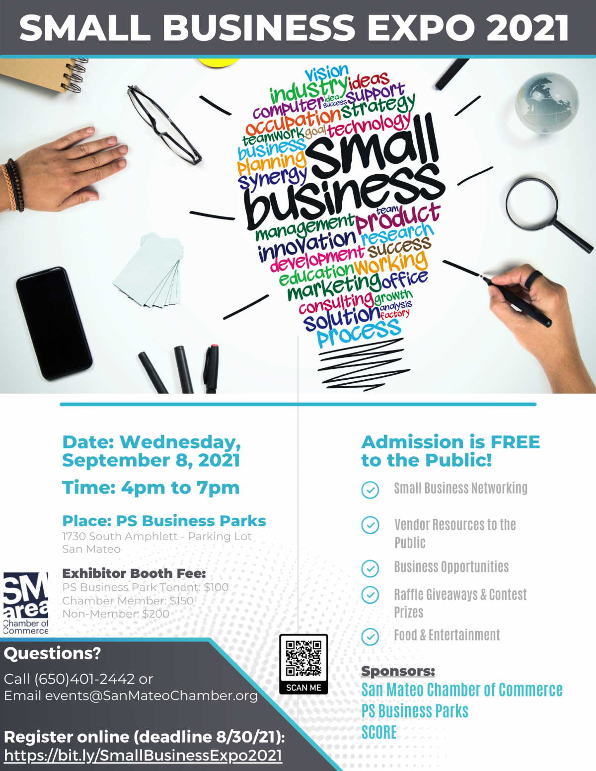 Small Business Marketing Services Flyer